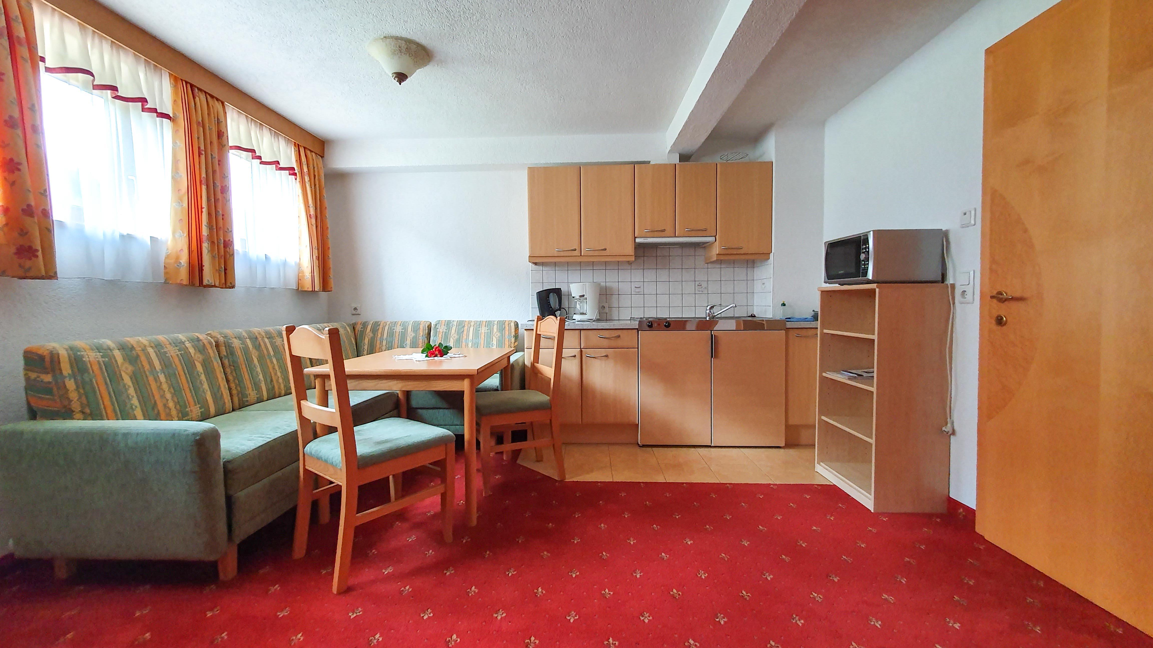 Appartement 7 Küche Schönachhof Gerlos